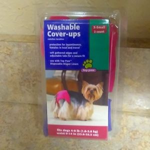 Top Paw Washable Coverups For Female Dogs NWT